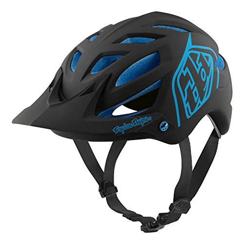 Troy Lee Designs All Mountain Mountain Bike A1 Classic with MIPS (X-Large/XX-Large, Black/Blue)