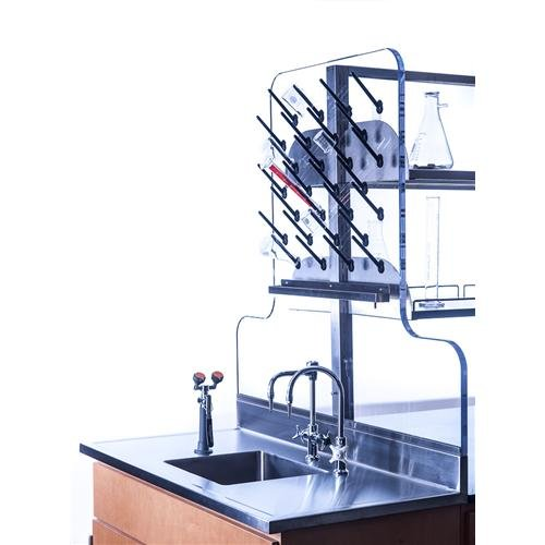"""Inter Dyne APB-3036 Pegboard Drying Rack with 50 Pegs, 3/4"""""""