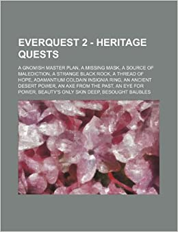 Everquest 2 Heritage Quests A Gnomish Master Plan A Missing Mask