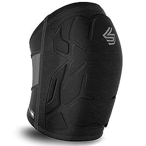 Shock Doctor Adult ShockSkin Multi Sport Knee Pad, X-Small