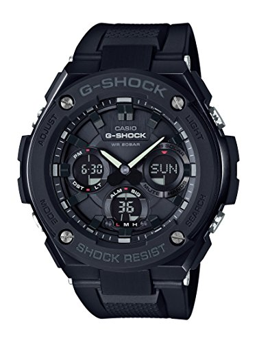 Casio Men's G Shock GSTS100G-1B Black Resin Japanese Quartz Diving Watch (Japanese G Shock Watches)