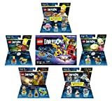 LEGO Batman Movie Story Pack + The Simpsons Homer Level Pack + Bart Simpson + Krusty + Scooby Doo Team Pack + Portal 2 Level Pack - LEGO Dimensions - Not Machine Specific