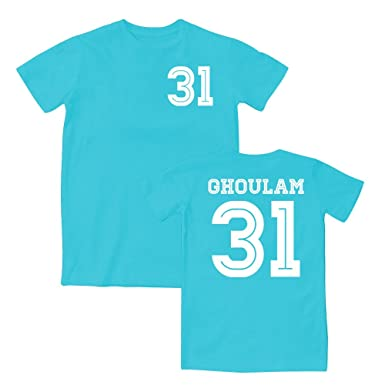 Ghoulam 31 Napoli Style T-Shirt 15 16 (Sky White) - XXL  Amazon.co ... f1413ffab