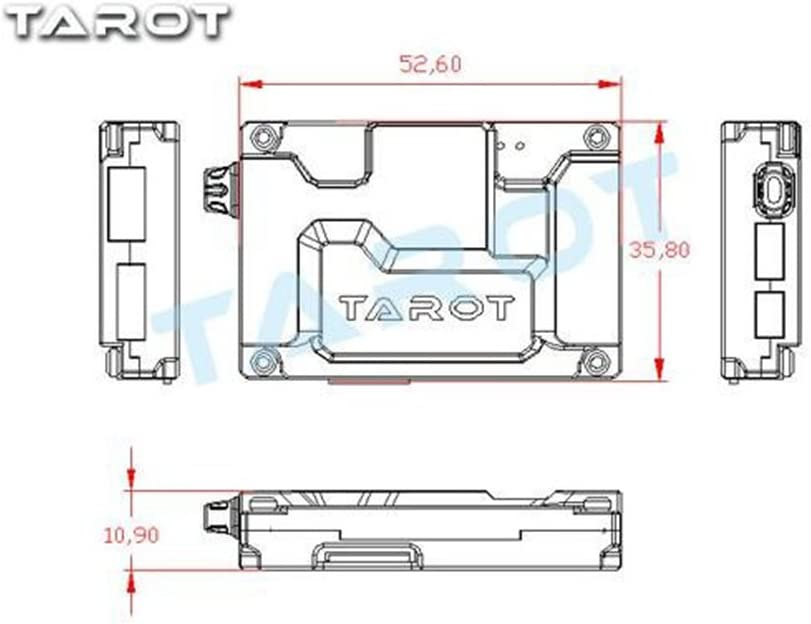 Tarot TL300C ZYX-OSD On-Screen-Display Video Overlay System for FPV Multicopter DIY Drone