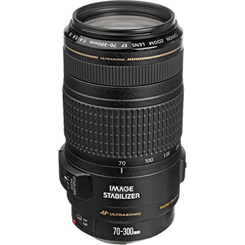 Canon EF 70-300mm f/4-5.6 IS (Image Stabilization) USM Lens for Canon EOS SLR Cameras (Certified Refurbished)