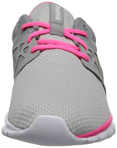 Reebok Authentic Running Pink Sublite Grey Solar Women's White Steel 4nf4g