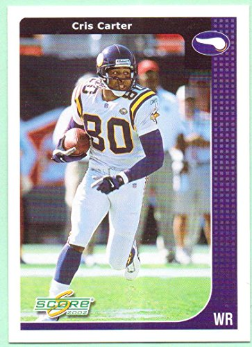 Cris Carter 2002 Score #124 - Minnesota - Buckeyes Ohio Football 2002 State