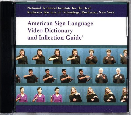 American Sign Language Video Dictionary and Inflection Guide (CD-ROM) by Rochester Institute of Technology Nation (2000-