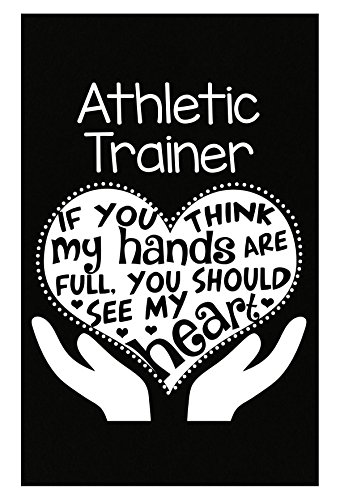 Athletic Trainer Gift Full Hands Heart Clothing Gifts - Poster
