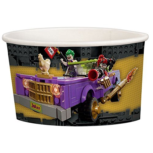 amscan Lego Batman Treat Cups, Party