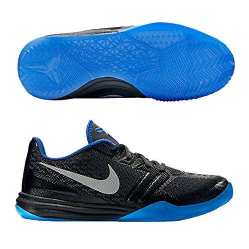 Nike Mens KB Mentality, BLACK/METALLIC SILVER-GYM ROYAL-PHOTO BLUE, 13 M US 704942 005