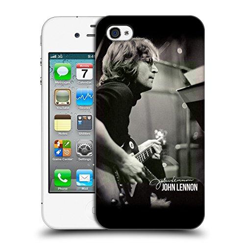 Official John Lennon Guitar Key Art Hard Back Case for Apple iPhone 4 / 4S