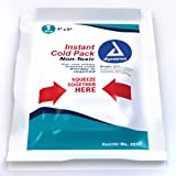 Dynarex Instant Cold Pack with Urea (non-toxic) 4 Inches X 5 Inches, 24-Count