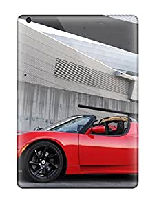 Hot For Ipad Air Tpu Phone Case Cover(tesla Roadster 12) 2745535K77074027