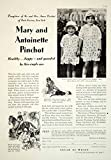 1929 Ad Cream of Wheat Mary Antionette Pinchot Children Breakfast Food Eat YGH3 - Original Print Ad