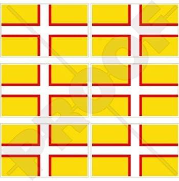 Dorset County Bandera Inglaterra Reino Unido UK 40 mm (1, 6 \