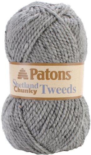 (Shetland Chunky Yarn- Tweeds-Pewter 1 pcs sku# 1466610MA)