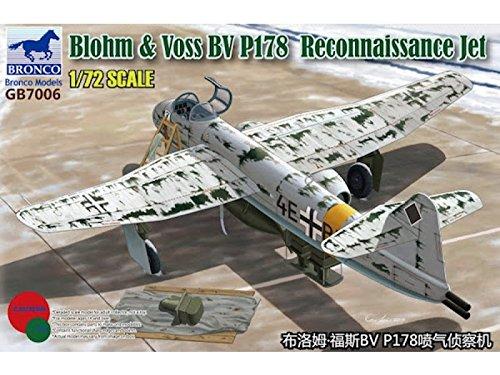 Unbekannt Bronco Models GB7006 - Modellbausatz Blohm und Voss BV P.178 Reconnaissance Jet BOMGB7006