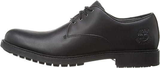 TALLA 46 EU. Timberland Stormbuck Plain Toe Waterproof, Zapatos de Cordones Oxford Hombre