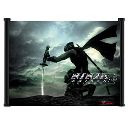 Amazon.com : Ninja Gaiden Sigma 2 Game Fabric Wall Scroll ...