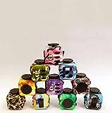 Pansupply Colorful Fidget cube toys stress cube magic puzzle toys
