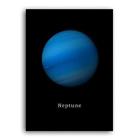 Impresión De Lienzo,Cartel Minimalista Moderno Sistema Solar ...
