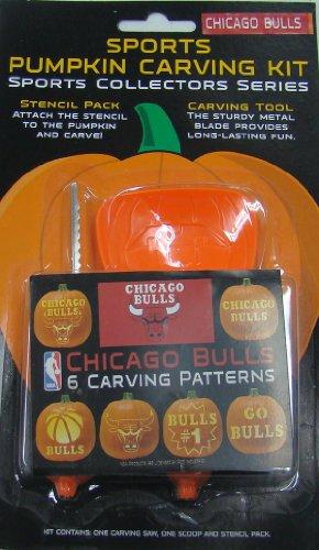 (NBA Chicago Bulls Pumpkin Carving Kit )