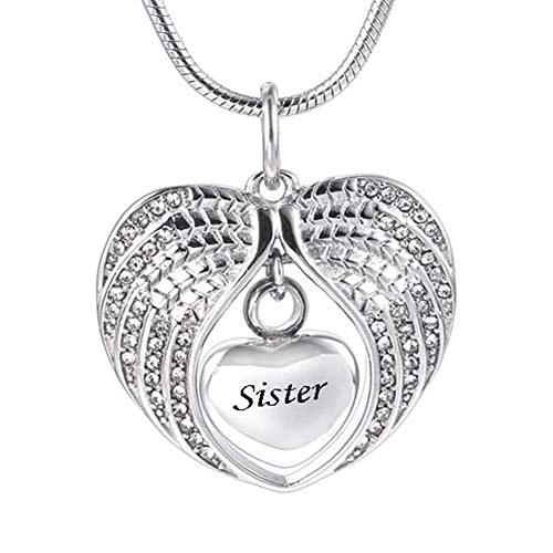 Yaoyodd19 I Love You 100 Languages Light Projection Heart Pendant Necklace Lover Jewelry - Rose Gold ()