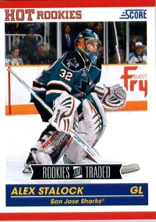 2010 Panini Score Rookies & Traded Hockey Card (2010-11) IN SCREWDOWN CASE #625 Alex Stalock Mint