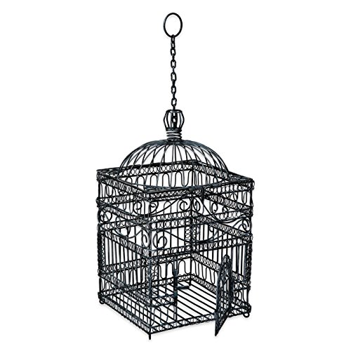 ACHLA Designs Old Victorian Decorative Bird Cage BC-04 Large - 22-1/2-in