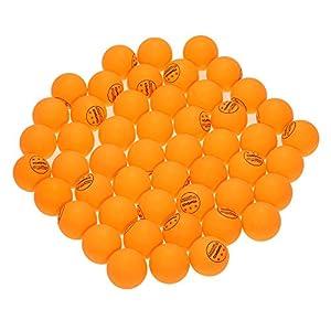 TOMSHOO 50Pcs/100Pcs 3-Sterne 40mm Tischtennisbälle