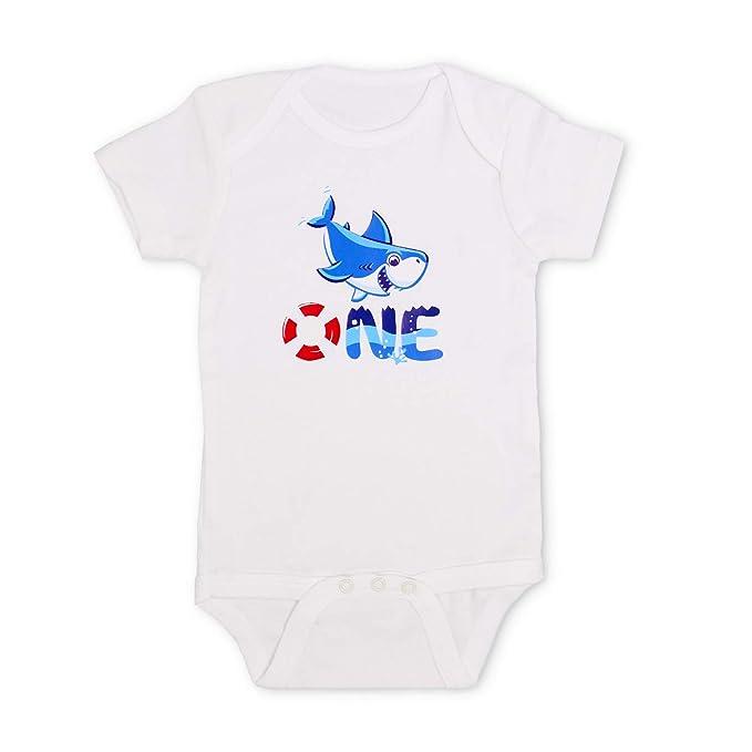 Amazon.com: Disfraz de tiburón bebé para primer cumpleaños ...
