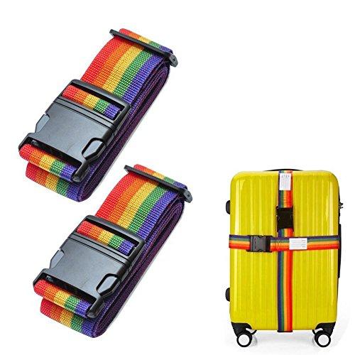 2x Luggage Strap, 2M 78