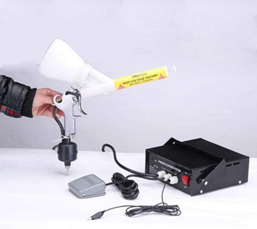 ROMYIX Dispositivo di rivestimento in polvere PC03-5 Sistema di rivestimento in polvere Pistola per verniciatura