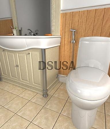 Perfect Handheld Bidet Spray Toilet Shower Diaper Spray Hot Cold Water Mix   H201