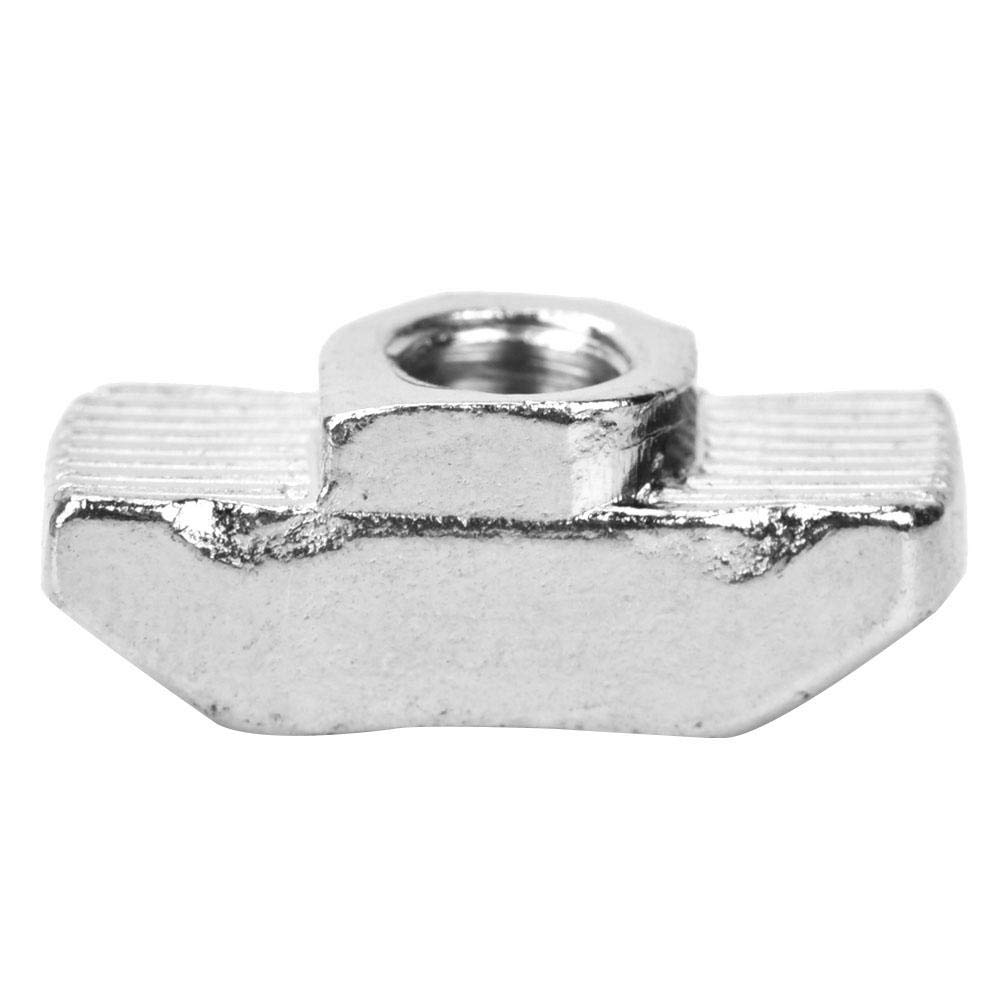 Steel Zinc QTY-10 8-32 THD x .250 lg Unicorp EFH-832-4 Round Captive Stud Flush Threaded