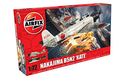 Airfix 1:72nd Scale WWII Nakajima B5N2 'Kate' Plastic Model Kit