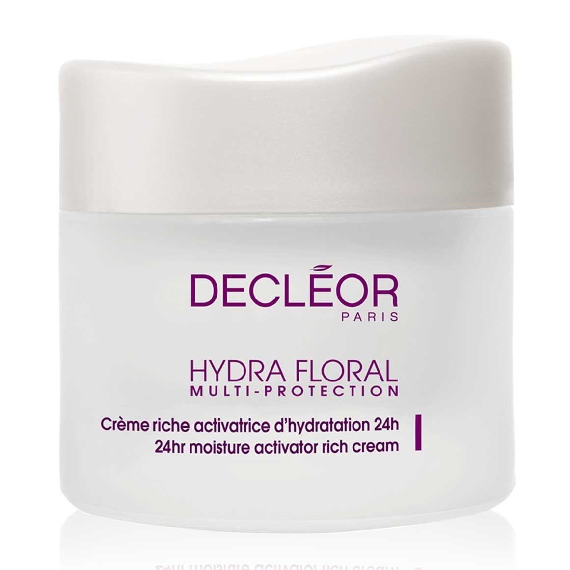 Decleor Hydra Floral 24hr Hydrating Rich Cream for Unisex, 1.7 Ounces U-SC-3170 33153700100