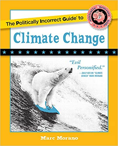 Wash Times front page feature: Morano's 'Politically Incorrect Guide to Climate Change' uses humor to battle alarmists