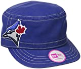 MLB Toronto Blue Jays Women's Chic Cadet Military Cap (One Size Fits All)