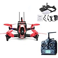 Walkera Rodeo 110 Racing Drone 110mm RC Quadcopter RTF DEVO 7 TX With Goggle4 5.8GHz FPV Video Image Transmission Glasses 600TVL Camera (High Version)