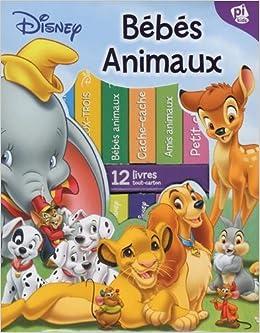 Ma Premiere Bibliotheque Bebes Animaux De Disney Coffret