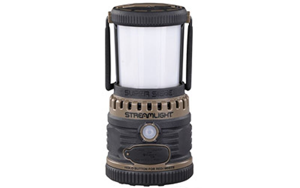 Streamlight Super Siege Rechargeable Lantern Portable USB Charger Coyote Brown