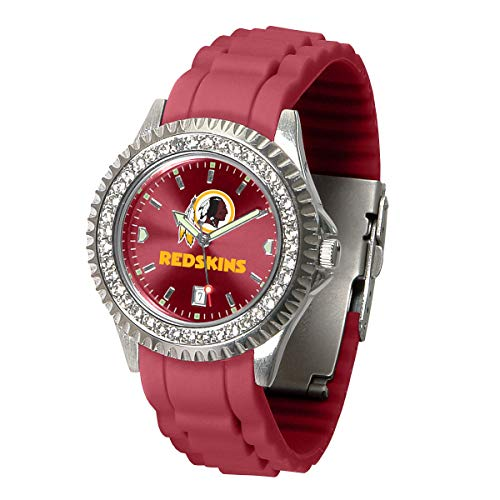Game Time NFL Washington Redskins Womens SparkleWrist Watch, Team Color, One Size ()
