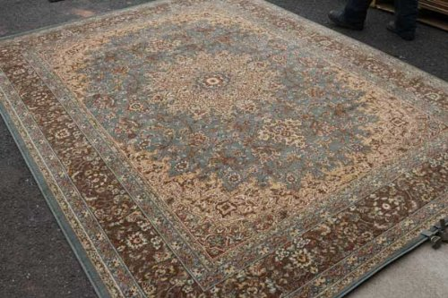 Feraghan New City Traditional Isfahan Wool Persian Area