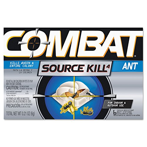 Combat 45901 Ant Killing System Child-Resistant Kills Queen & Colony 6/Box