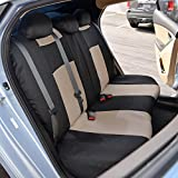 BDK PolyPro Car Seat Covers, Full Set in Beige on
