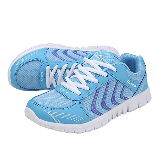Breathable Blue 5 US4 Shoes 5 Tennis Road Athletic Walking Lightweight Women's Running 10 Sneakers Ponyka nqZBXan