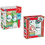 B-THERE Set of 2 Xmas Activity Packs DIY Christmas Ornaments. Fun Activities for The Holidays
