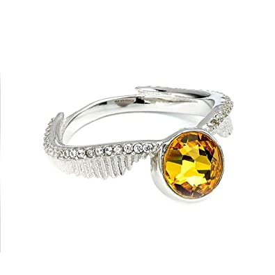 Cristaux officiels de Harry Potter Swarovski Golden Snitch Ring